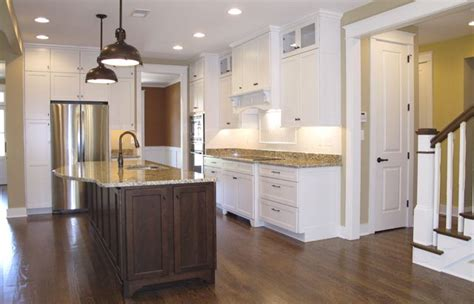kitchen in the summerlake by the lewes building company