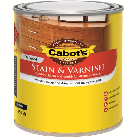 cabots deck stain bunnings cabot s 250ml satin walnut stain and varnish bunnings