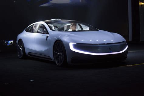Lesee Is The First Electric Car Concept From Faraday