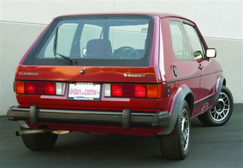 volkswagen rabbit late but still first 1983 1984 vw rabbit gti hemmings