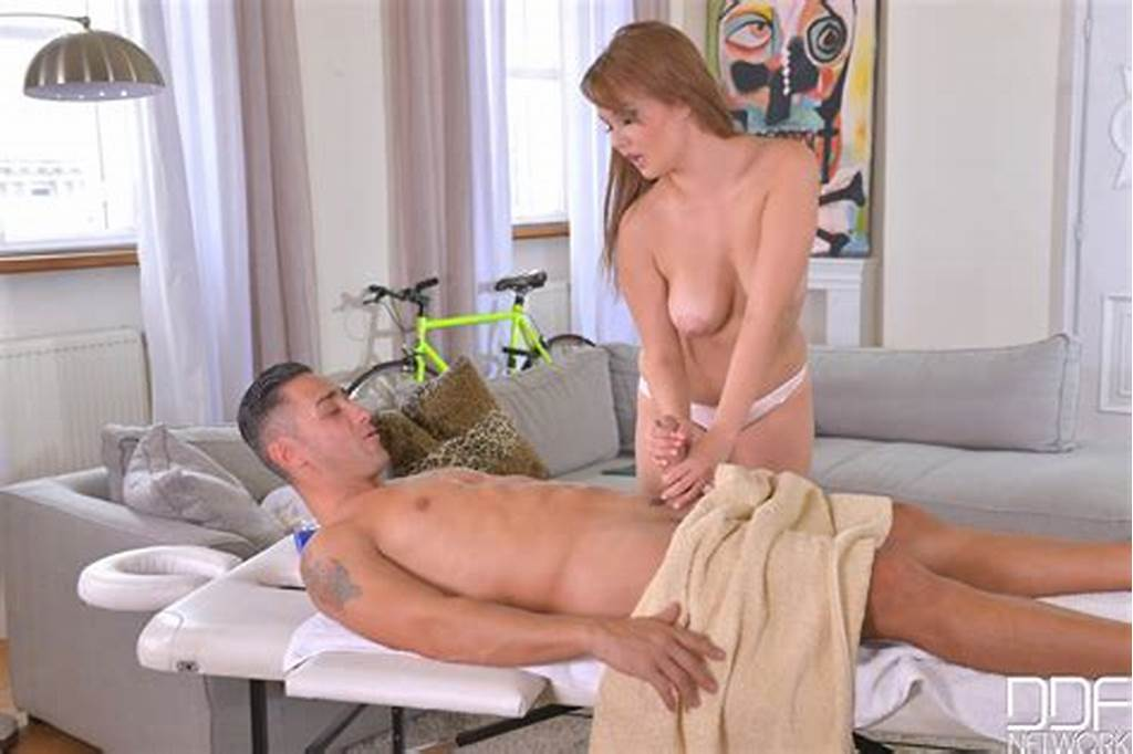 #Courtney #Blue #Massages #Her #Clients #Dick #With #Her #Mouth #And