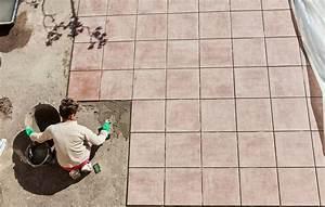 le carrelage pour terrasse toutes les infos pour le choisir With poser du carrelage sur une terrasse exterieure