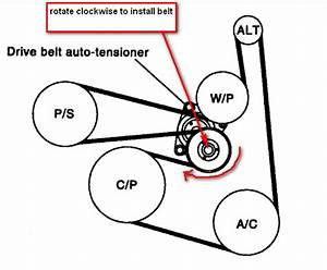 2006 Nissan Altima 2 5 Serpentine Belt Diagram