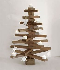Deko Weihnachtsbaum Holz : alternativer deko weihnachtsbaum aus holz von raumgestalt ~ Watch28wear.com Haus und Dekorationen