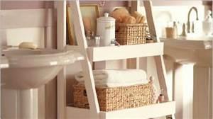 Etagere Rangement Salle De Bain : une tag re originale et pas ch re pour votre salle de bain ~ Melissatoandfro.com Idées de Décoration