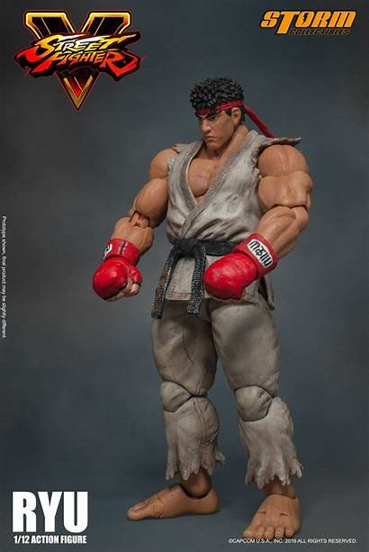 Fighter Ryu Street Storm Figure Collectibles Action