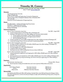 Best College Resume Exles by Exle College Student Resume Resumes Best Resume