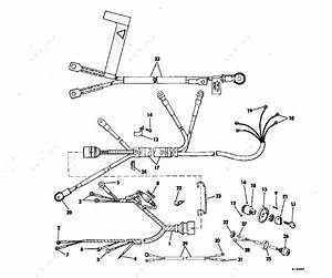 Evinrude 1981 25 - E25rcim  Instrument And Cable