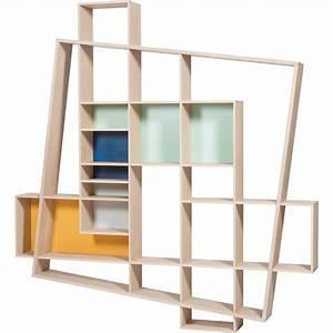 Bibliothèque Design Bois : biblioth que frisco ~ Teatrodelosmanantiales.com Idées de Décoration