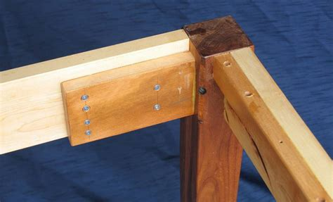 how to attach table top to legs building a table