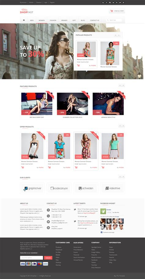 magento modern theme demo responsive magento themes for ecommerce websites design graphic design junction