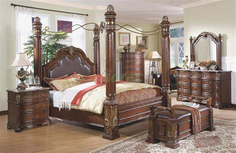 The Most Awesome Cheap Canopy Bedroom Sets With Regard To