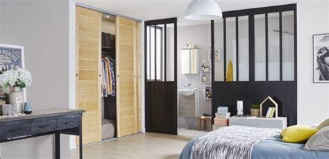 separation chambre une séparation de style loft pour la chambre leroy merlin