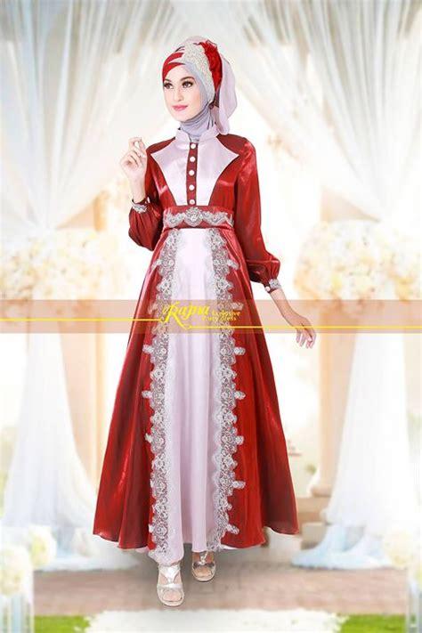 gaun repsesi pernikahan syari pusat busana gaun pesta
