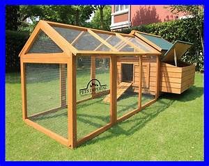 Savoy Single With Run Large Deluxe Chicken Coop Rabbit