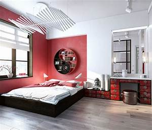 51, Red, Bedrooms, With, Tips, And, Accessories, To, Help, You, Design, Yours