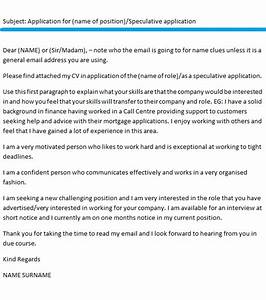 Email Cover Letter Example  icover org uk