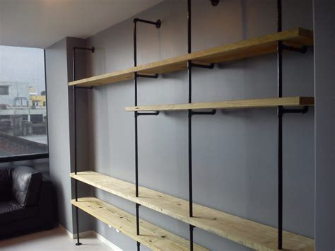 mueble tubular  madera ideas carpinteros