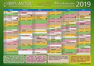 Mondkalender Für Pflanzen : biplantol mondkalender 2019 g rtnern nach dem mond biplantol hom opathie f r pflanzen ~ Orissabook.com Haus und Dekorationen