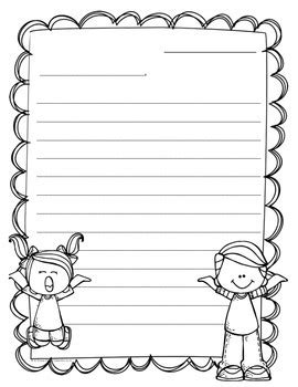 year letter writing templates st grade