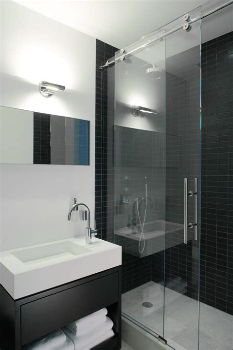 sliding glass shower doors bathroom contemporary with