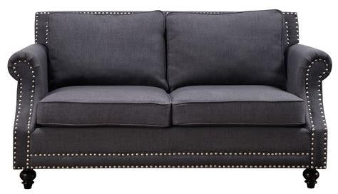 cloud 7 sofa upholstered in shimmering silver grey velour camden grey linen living room set from tov coleman furniture