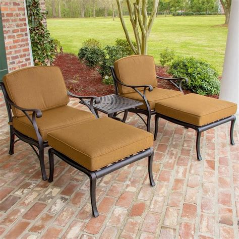 2 person dining table set heritage 2 person cast aluminum patio deep seating set