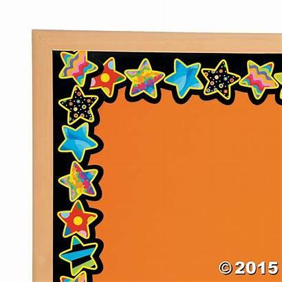 Bulletin Board Borders Patterns Stars Poppin Border
