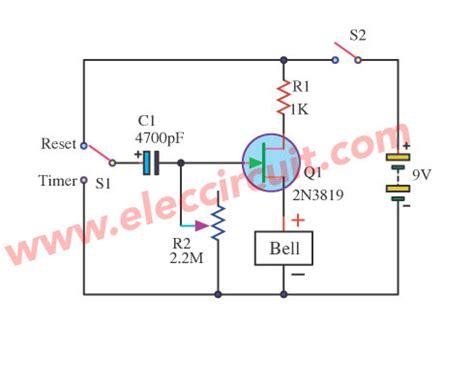 jfet delay time circuits   elec circuit