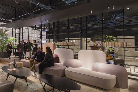 The current sofas and armchairs of the Salone del Mobile