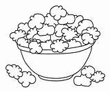 Popcorn Coloring Pages Bowl Printable Shopkins Corn Box Drawing Template Cookie Poppy Colouring Sheet Mixing Ocoloring Sketch Para Sheets Draw sketch template