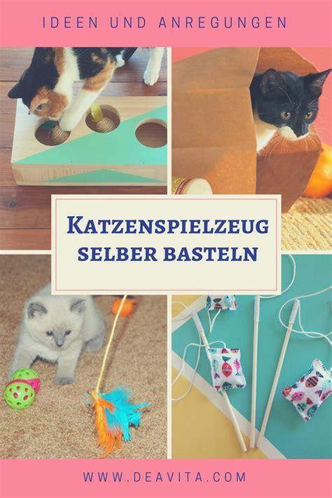 katzenspielzeug basteln ideen die besten 25 katzenspielzeug basteln ideen auf