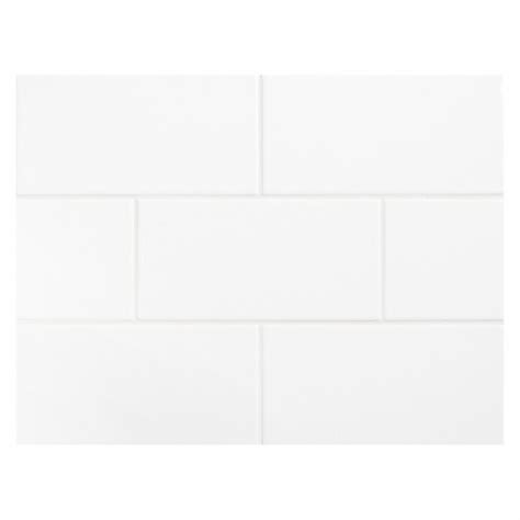 vermeere ceramic tile true white gloss    subway tile