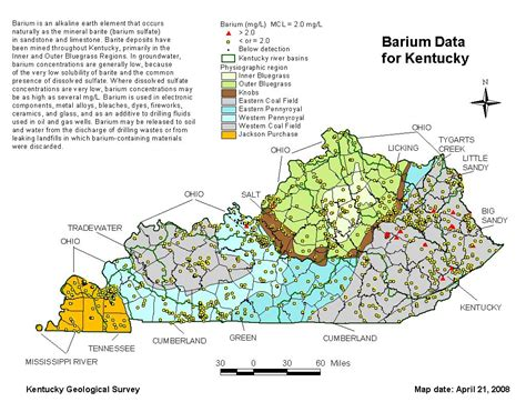 groundwater quality analyte descriptions