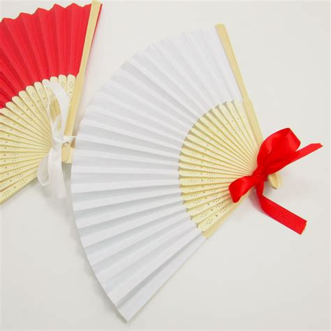 paper hand fans bulk online buy wholesale white paper hand fans from china