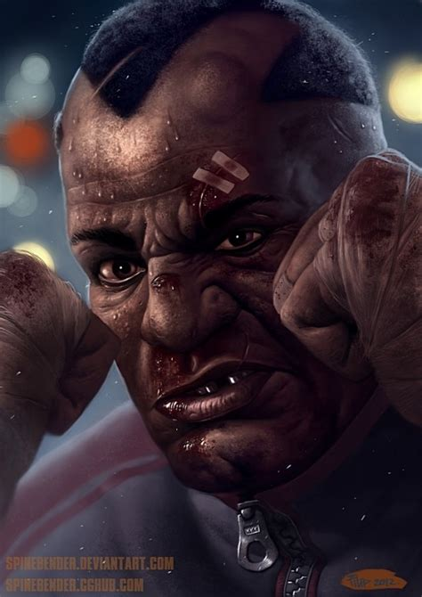 Realistic Street Fighter Character Portraits Joes Daily