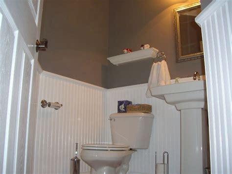 Installing Wainscoting Panels In Bathroom by Home Foyer With Beadboard Wainscoting Bathrooms With