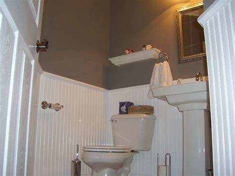 home foyer  beadboard wainscoting bathrooms