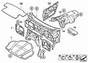 Original Parts For E70 X5 4 8i N62n Sav    Vehicle Trim   Sound Insulating Front