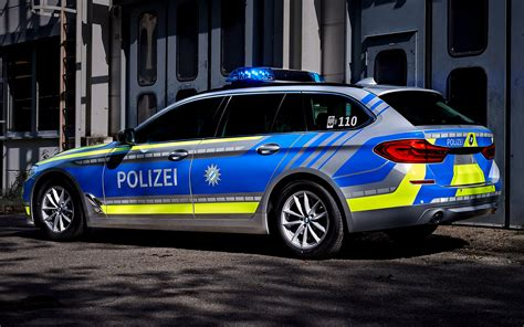 bmw  series touring polizei wallpapers  hd