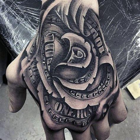 money tattoos  men wealth  masculine design ideas