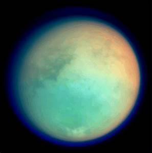 NASA - Titan in False Color