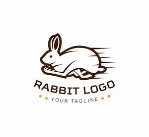 Running Rabbit Logo & Business Card Template - The Design Love