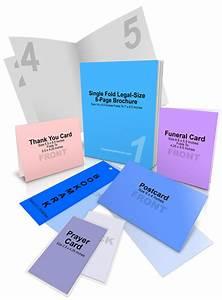 Funeral Program Package Mockup