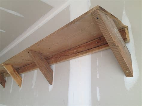 How To Build Elevated Wood Shelving In Garage Pdf Woodworking