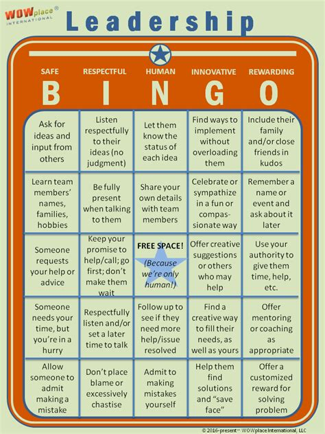 Customer Service Team Leader Questions by Leadership Bingo Single Card Complete Motivational