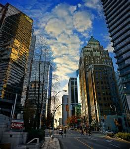 Downtown Vancouver BC Canada