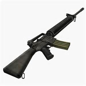 M16 Rifle Machine Gun