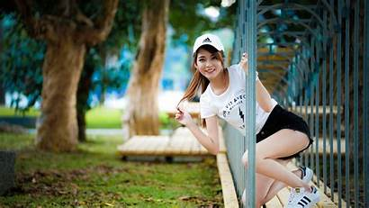 4k Asian Wallpapers Smile Woman Channel Uhd