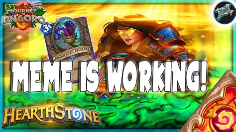Priest Decks Ungoro by Hearthstone The Meme Is Real Silence Purify Priest